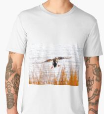 Mallard landing Men's Premium T-Shirt