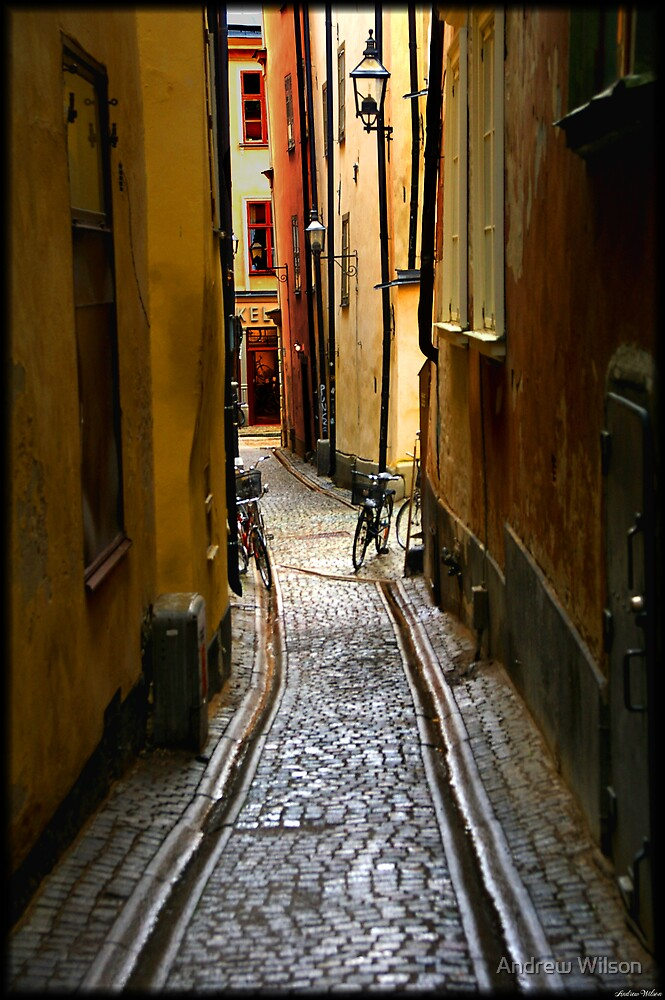 Gamla Stan 2 by Andrew Wilson