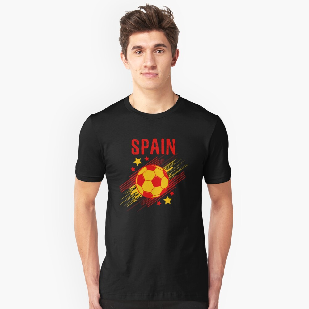 f4b18c54 Spain Soccer T-Shirt Fan Football Gift Cool Funny Quote - Spain ...