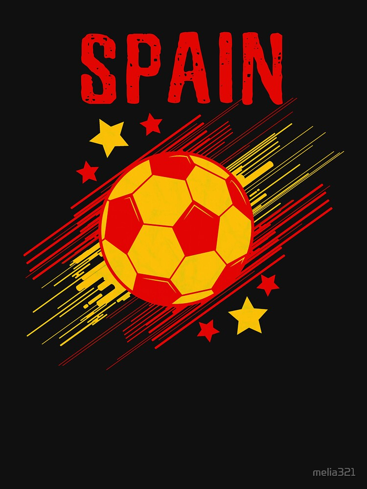 b2c411100c Spain Soccer T-Shirt Fan Football Gift Cool Funny Quote - Spain Soccer Tee  Shirts