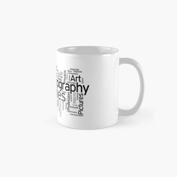 Photography Word Art 5 Classic Mug