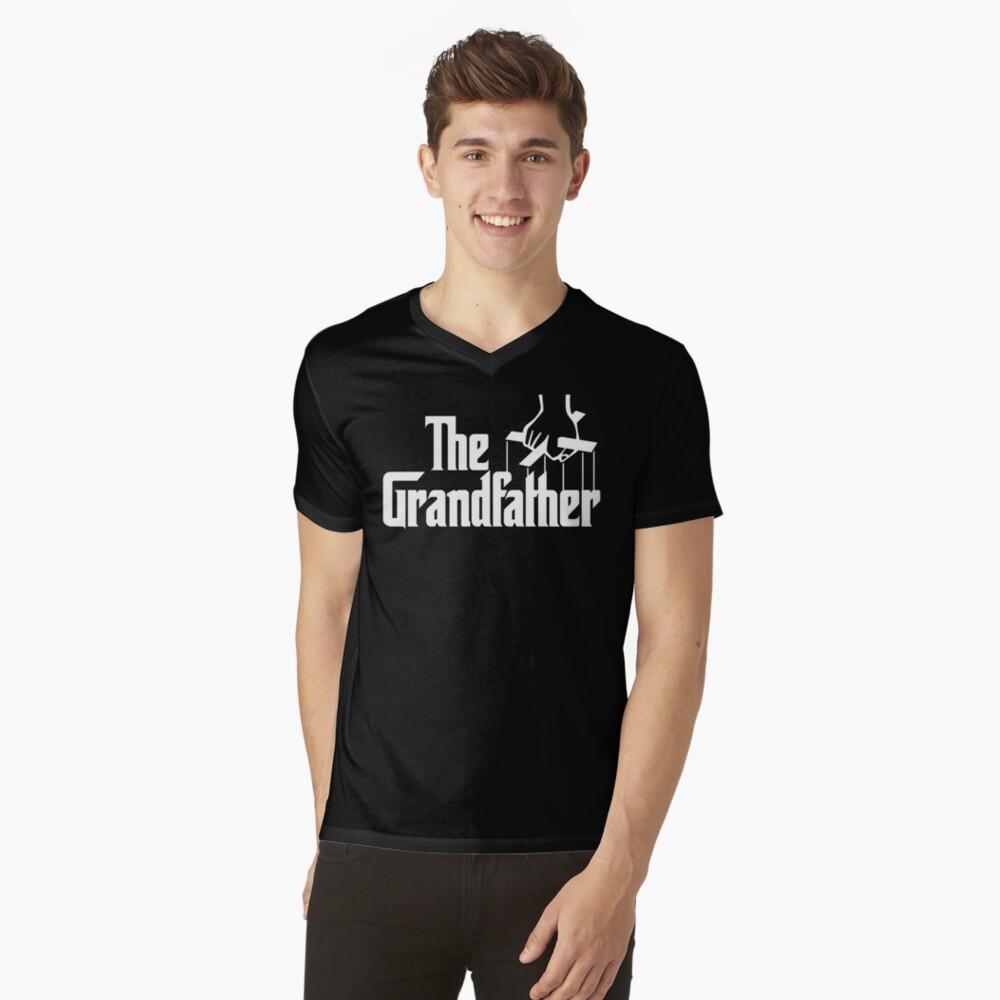 Abuelo abuelo Camiseta de cuello en V