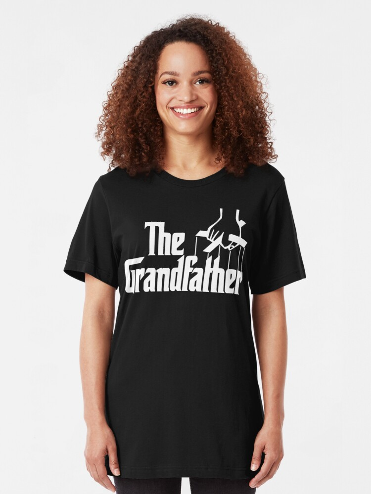 Vista alternativa de Camiseta ajustada Abuelo abuelo