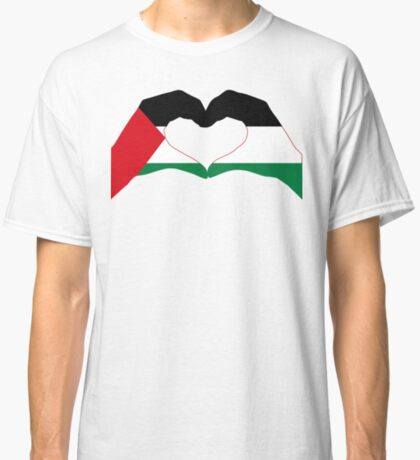 We Heart Palestine Patriot Flag Series  Classic T-Shirt