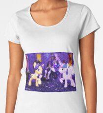 Maya Doi and Twilight Sparkle (The Princess and Her Duchess) Women's Premium T-Shirt