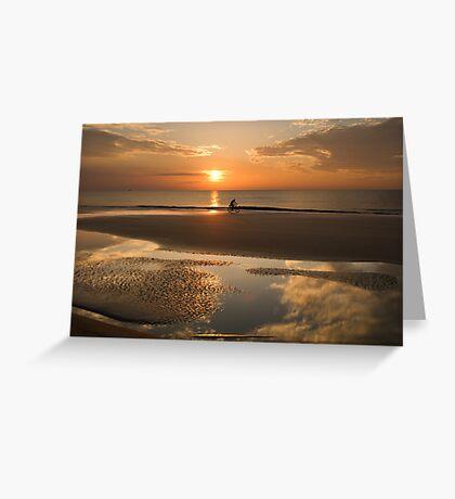 Tybee Island Sunrise Greeting Card