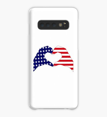 We Heart the United States of America Patriot Series Case/Skin for Samsung Galaxy