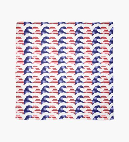 We Heart the United States of America Patriot Series Scarf
