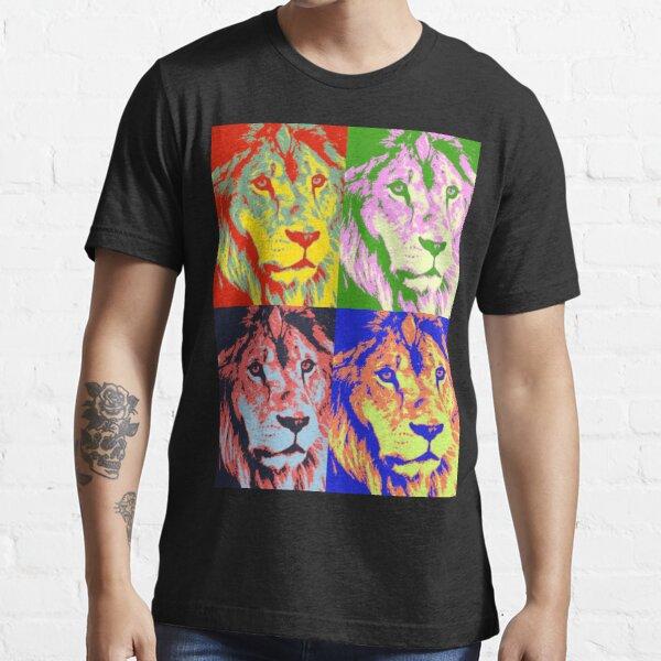 Lion Pop Art Essential T-Shirt