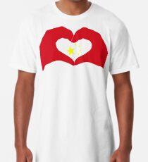 We Heart China Patriot Flag Series Long T-Shirt
