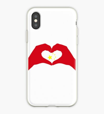 We Heart China Patriot Flag Series iPhone Case