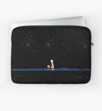 Calvin and Hobbes Staring into the Sky Laptop Sleeve