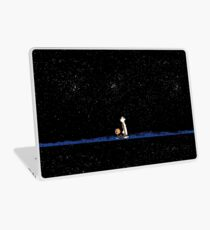 Calvin and Hobbes Staring into the Sky Laptop Skin