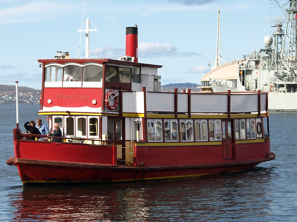 Water Taxi, Hobart Tasmania by Tom McDonnell
