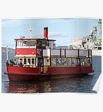 Water Taxi, Hobart Tasmania Poster