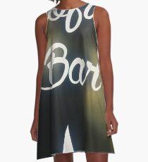 Rooftop Bar A-Line Dress