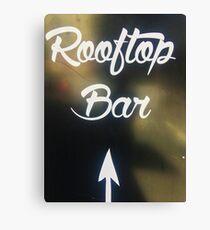 Rooftop Bar Canvas Print