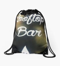 Rooftop Bar Drawstring Bag