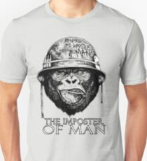 Monkey The Soldier - Imposer of Man  Unisex T-Shirt
