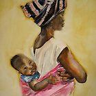 Malawian Mother by Shirlroma