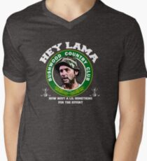 Hey Lama how bout a lil something for the effort Men's V-Neck T-Shirt