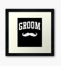 Groom Shirt Framed Print