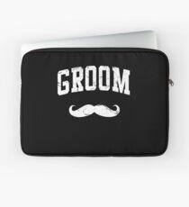 Groom Shirt Laptop Sleeve