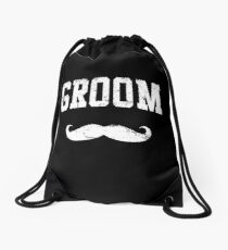 Groom Shirt Drawstring Bag