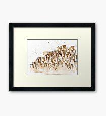Giant's Causeway Gerahmtes Wandbild