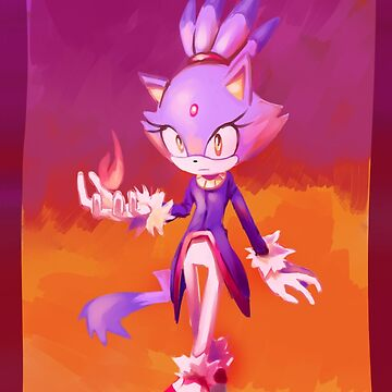 Blaze The Cat by Lumii