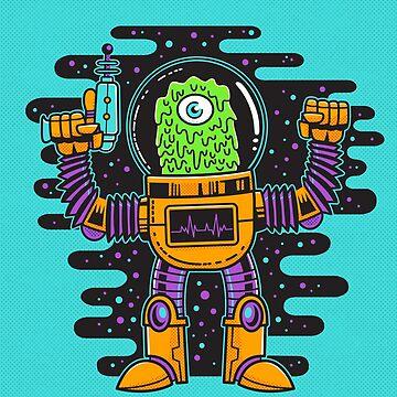 Slime Alien v 2 by strangethingsA
