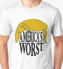 Americas Worst - Trump Unisex T-Shirt