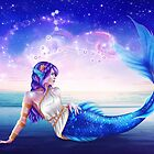 Pisces OC - 12 Zodiac Ladies by ladykraken