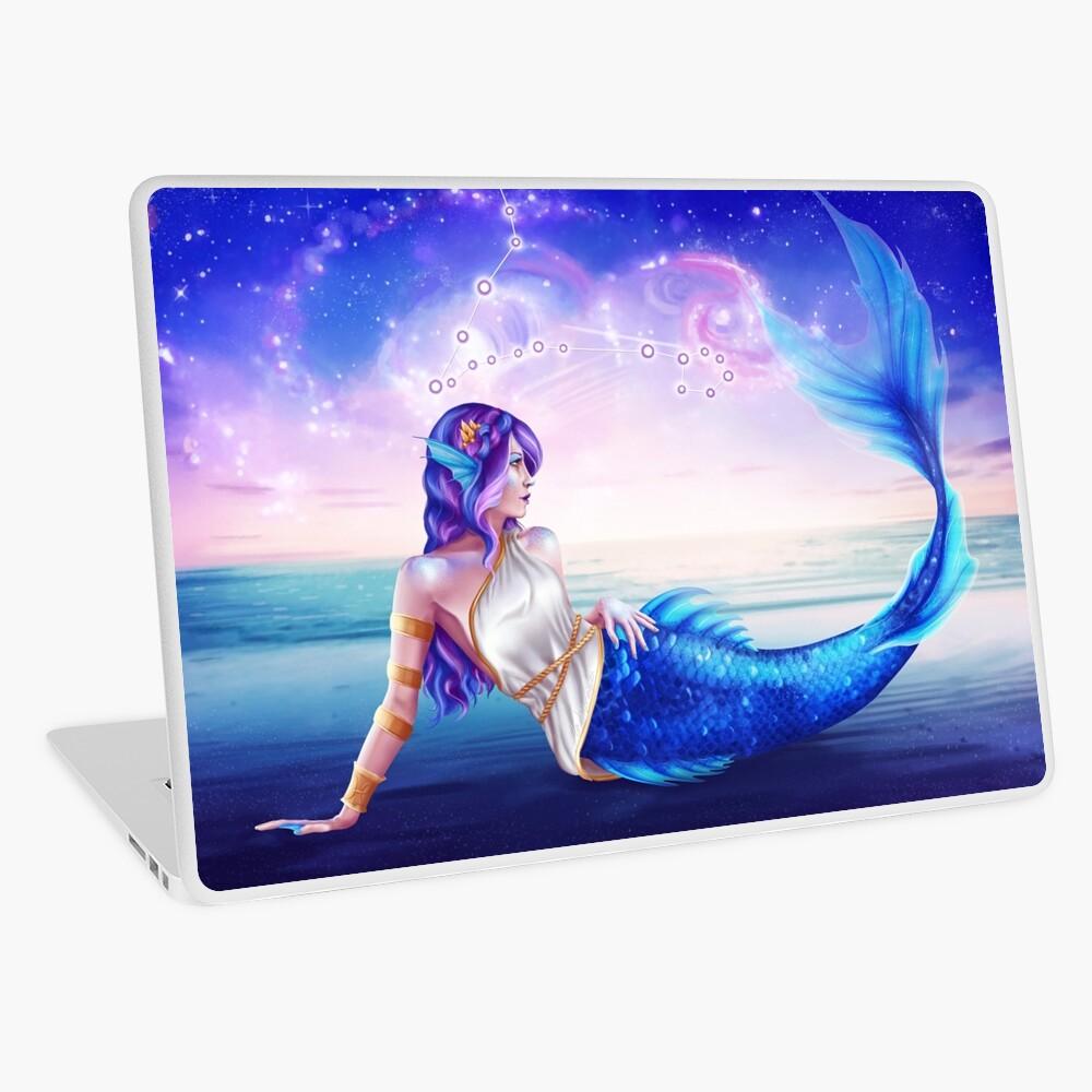 Pisces OC - 12 Zodiac Ladies Laptop Skin