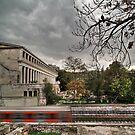 Haunted train by Kostas Pavlis