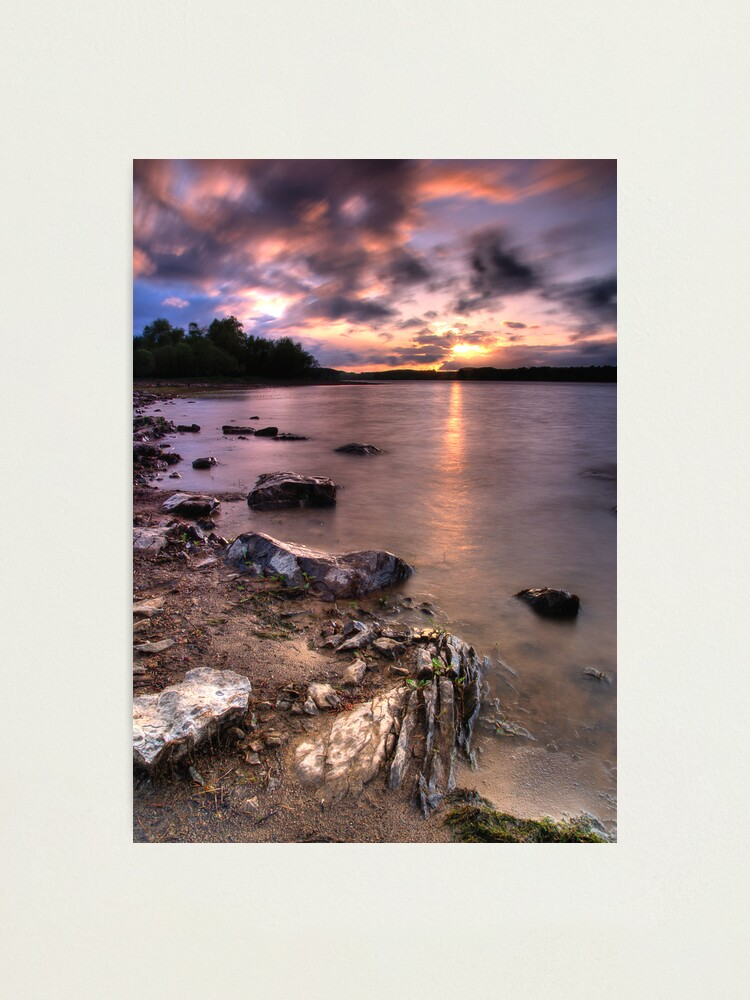 Alternate view of Colt Crag sunset Photographic Print