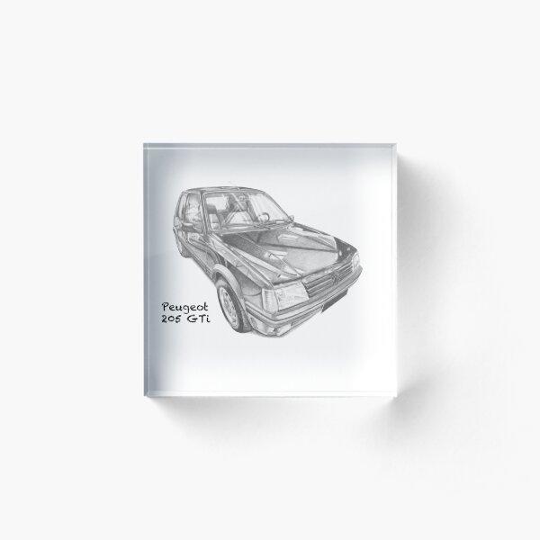 Peugeot 205 GTi Bloc acrylique