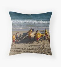 the open boats  Throw Pillow