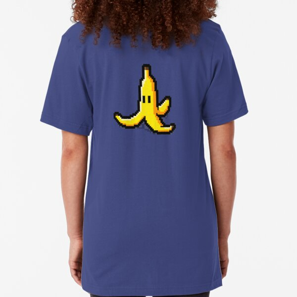 Pixel Banana Skin Slim Fit T-Shirt