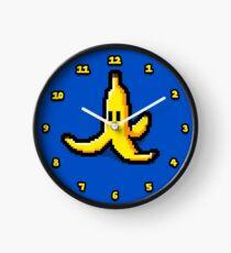 Pixel Banana Skin Clock