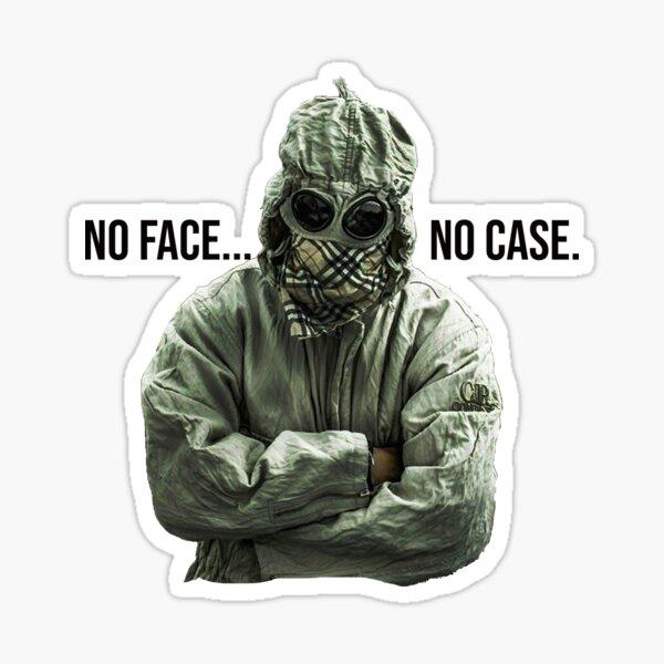 No Face Aucun cas Hooligan Goggle Ultra Sticker