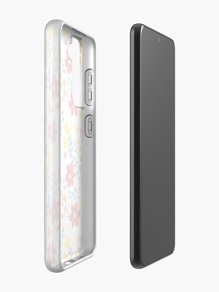 Alternate view of Summer flowers Case & Skin for Samsung Galaxy