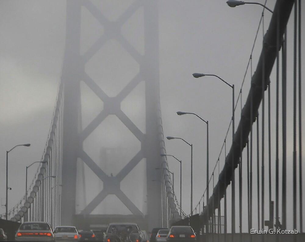Fog at the Bay by Erwin G. Kotzab
