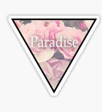 Paradise Flowers Sticker