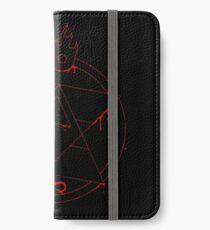 Roy Mustang - Blood Transmutation Circle iPhone Wallet/Case/Skin