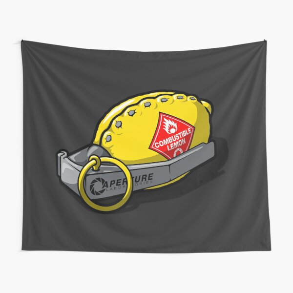 Combustible Lemon Tapestry