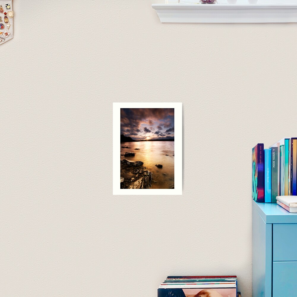 Colt Crag sunset Art Print