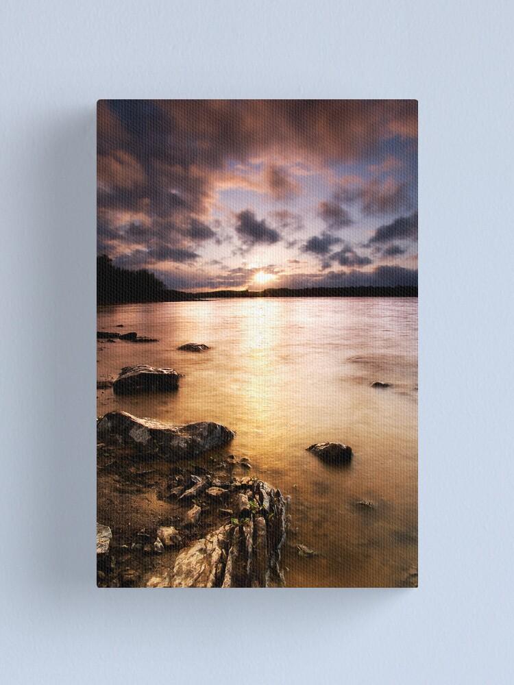 Alternate view of Colt Crag sunset Canvas Print