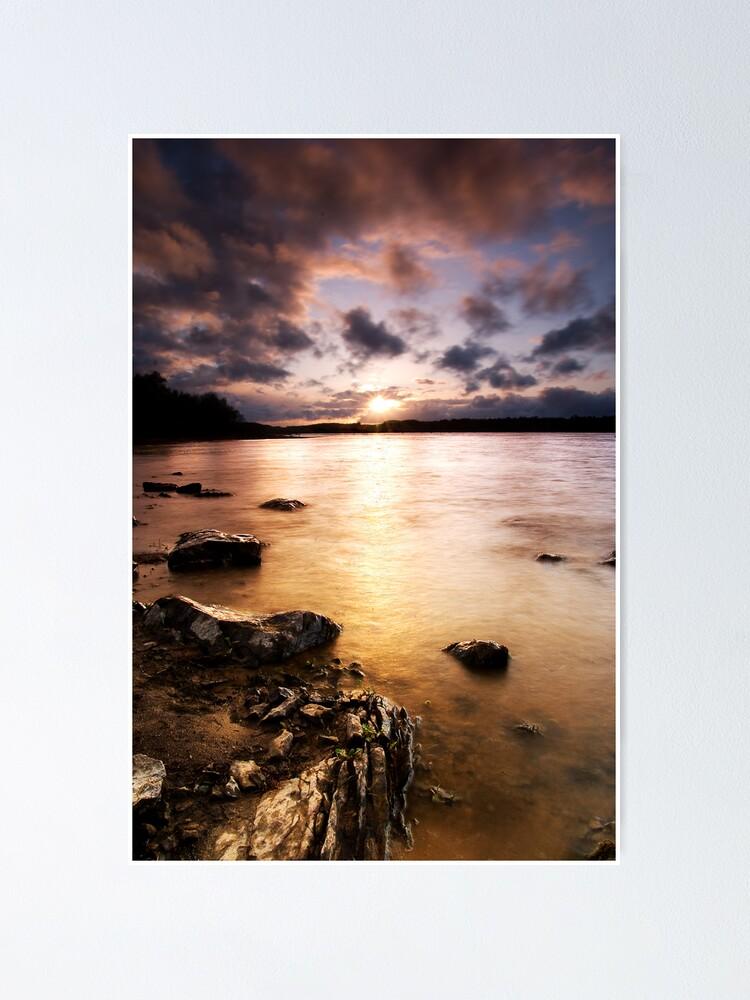 Alternate view of Colt Crag sunset Poster