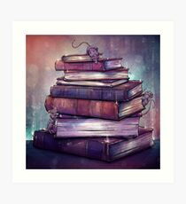 Reading is Magic Art Print